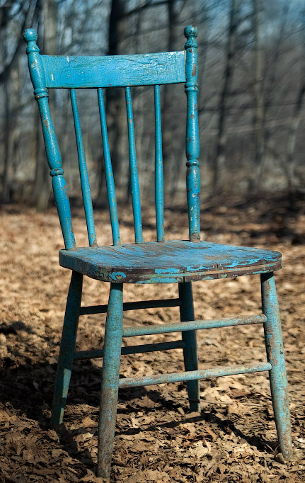 You Either Have Some Old Rickety Wooden Chairs Sitting Around Collecting Dust That Seen Too Many Years And Borne Pounds
