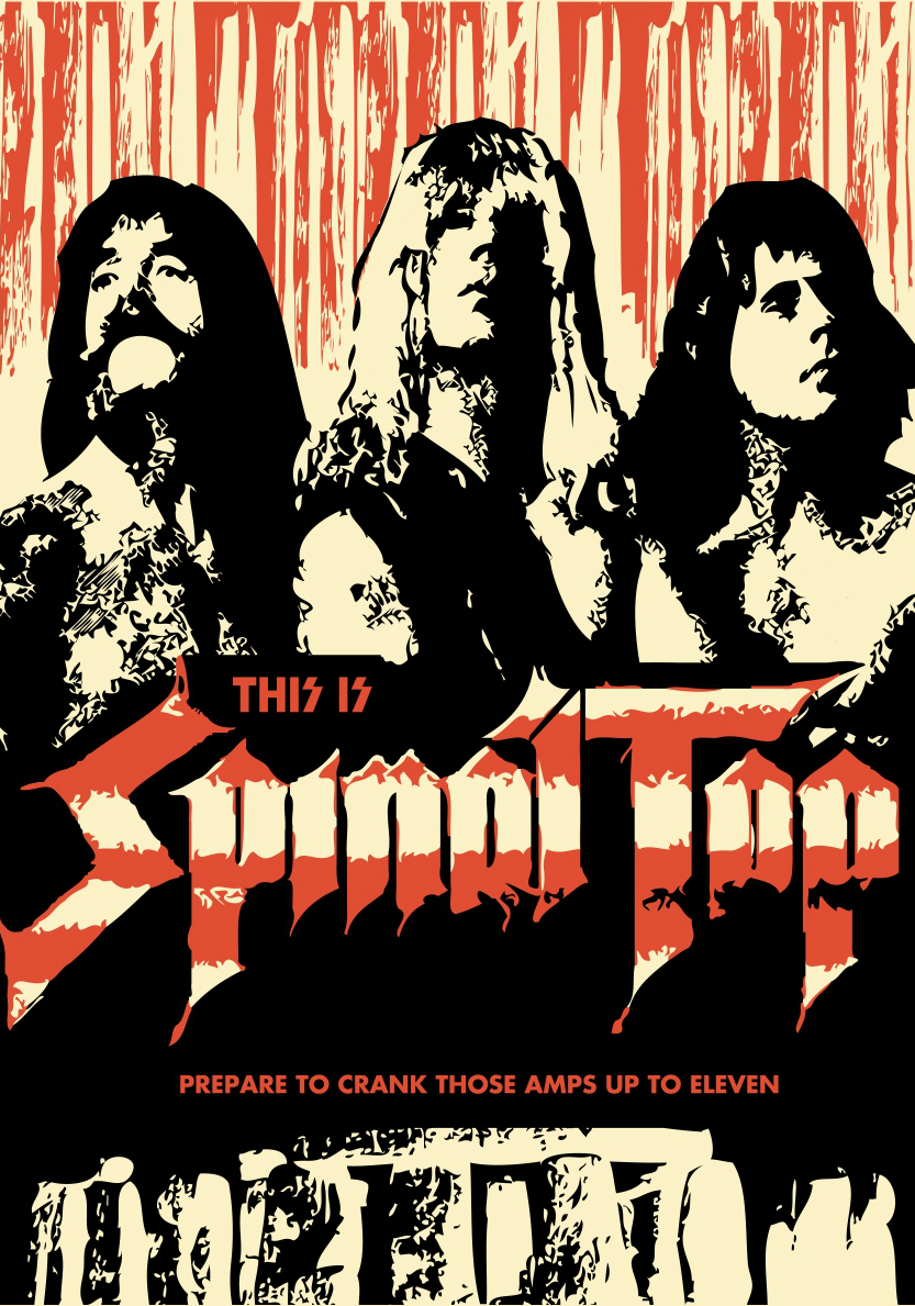An analysis of the spinal tap bands spoof of the music industry
