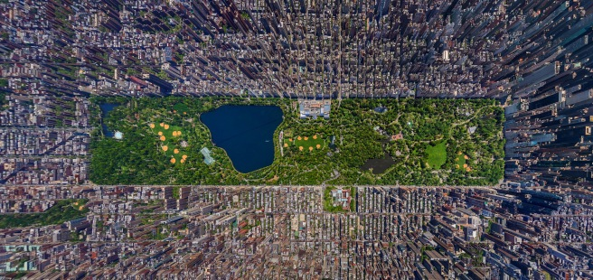 3-D Central Park