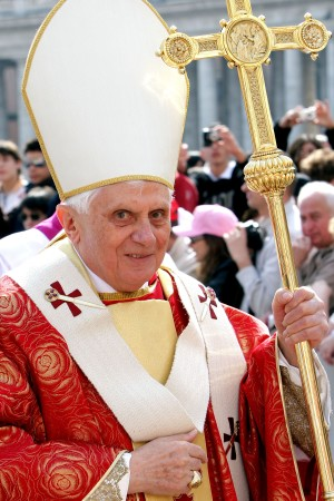 Pope Benedict XVI Celebrates Holy Mass