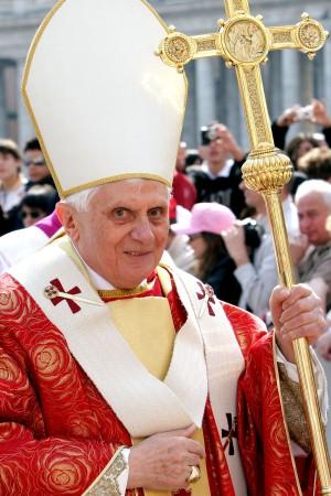 Pope Benedict XVI Celebrates Holy Mass