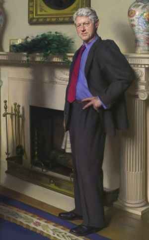 Bill-Clinton-Portrait